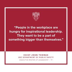 Chief John Thomas talks about the value of leadership development.